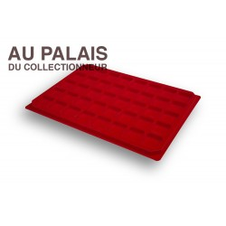 .Plateaux feutrine (carrées)X1 LOT N°M10