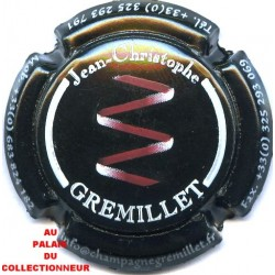GREMILLET Jean-Christophe 01 LOT N°11513