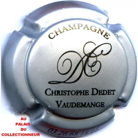 DEDET CHRISTOPHE 01 LOT N°12512