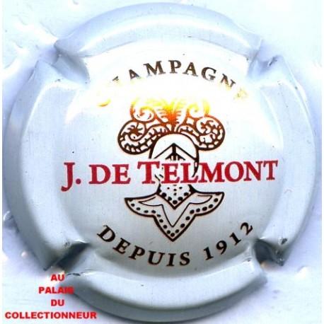 TELMONT J DE. 23d LOT N°12789