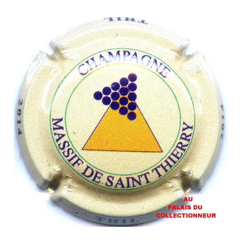 CAPSULE DE CHAMPAGNE MASSIF DE SAINT THIERRY*