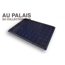 .Plateau 70 cases noir matière recyclée X1 LOT N°M105