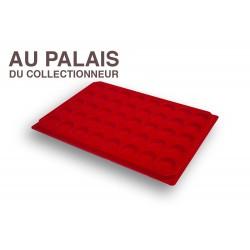 .Plateaux feutrine (rondes)X1 LOT N°M70