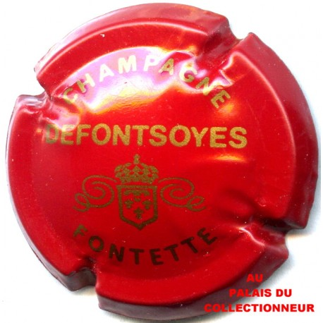 DEFONTSOYES 01 LOT N°1180