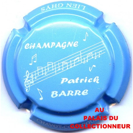 BARRE PATRICK 06 LOT N°1841