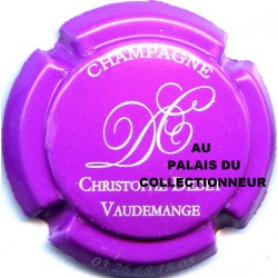 DEDET CHRISTOPHE 12 LOT N°16677
