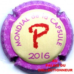 MONDIAL 2016 25a LOT N°19326