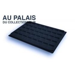 .Plateaux feutrine (carrées) noir X1 LOT N°nc