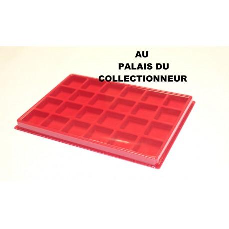 .Plateau feutrine rouge pour JéroboamX1 LOT N°M46