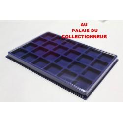 .Plateau feutrine bleu pour jéroboamX5 LOT N°M47