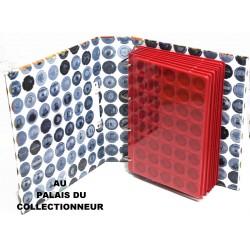 .Album GRANDE CHAMP40x7 plateaux rouge complet AFTR