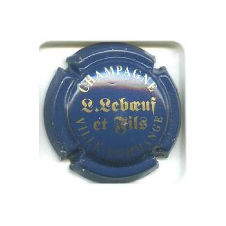 LEBOEUF L. & FILS02 LOT N°3369