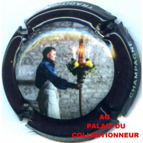 8c. argent et noir Capsule de Champagne MOUGIN Laurent