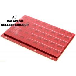 """.Intercalaire rouge pour séries d""""euros pour classeur standard x1 FESR1"""