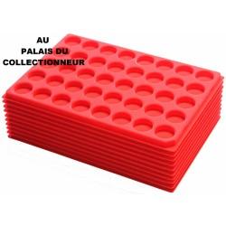 .Plateaux feutrine (rondes)X10 LOT ARFR10