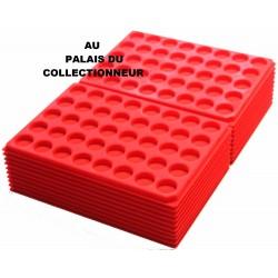 .Plateaux feutrine (rondes)X100 LOT 1ARFR100