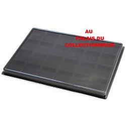 .Plateau feutrine noir pour jéroboamX5 LOT N°M47N