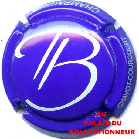 10a. violet et blanc Capsule de champagne BARRE Patrick