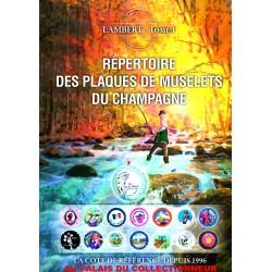 ..Nouveau répertoire à spirales capsules Champagne édition 2018