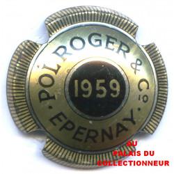 POL ROGER & CIE 1959 LOT N°0844