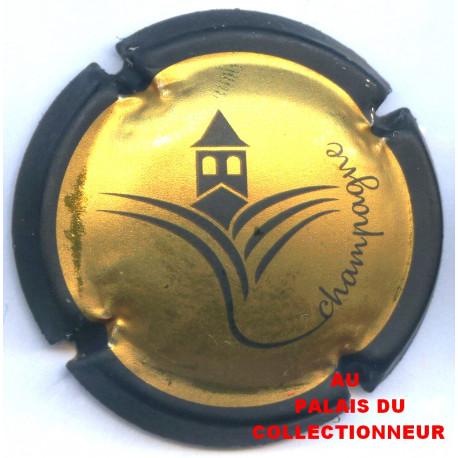 Capsule de champagne MAILLET Sébastien métal et noir