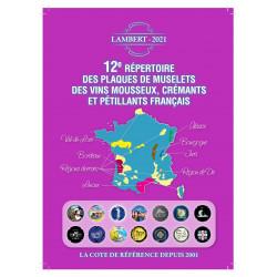 .. Prévente NOUVEAU Répertoire des mousseux Français N°12-édition 2021