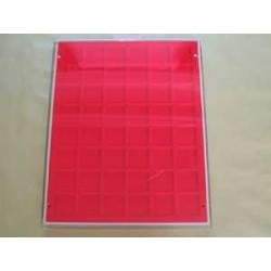 .Casiers standards rouge ou bordeaux LOT N°M24