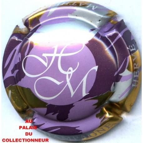 Capsule de champagne MATHELIN Hervé 3. fond violet